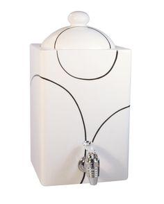 Corelle Coordinates Simple Lines Ceramic Beverage Dispenser