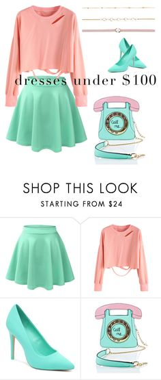 """""""Spring Looks Under $100"""" by bluemoon019 ❤ liked on Polyvore featuring LE3NO, 3 AM Imports and Aéropostale"""