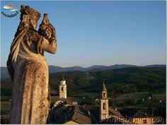 Veduta dal Castello di Compiano