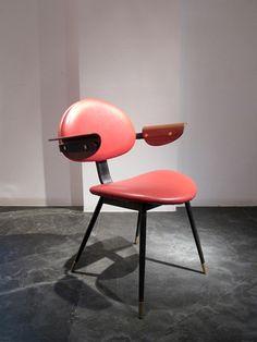 Carlo Mollino,Chaise «Lutrario» - Galerie Downtown