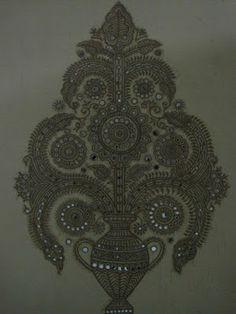 Indian Art: Lippan Work(Gujarat