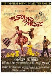 It was adapted as a 1965 film musical starring Julie Andrews and Christopher Plummer, which won five Academy Awards. The Sound of Music was the final musical written by Rodgers and Hammerstein. Christopher Plummer was dreamy. Sound Of Music Movie, Music Film, Love Movie, I Movie, Sound Of Music Broadway, Music Genre, 70s Music, Broadway Theatre, Old Movies