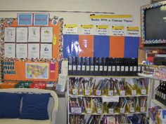 fourth grade classroom | reading and science