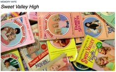 I remember spending my babysitting money on Sweet Valley High books as a young teen!