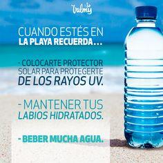 Tips Belleza, Water Bottle, Beauty Tips, Lips, Water Bottles
