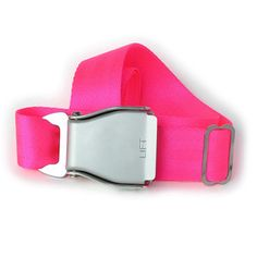 Airplane Buckle Belt Neon Pink, now featured on Fab.