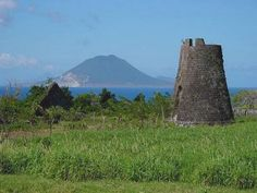 #SandorCity Contest  Looking at the island of Nevis from St. Kitts - Nevis Peak. #SandorCity Contest