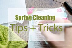 Spring Cleaning Tips and tricks || Great product recommendation!