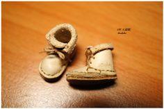 1/12 淡粉皮色大頭靴
