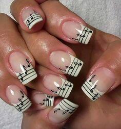 Music Note #nail #nails #nailart