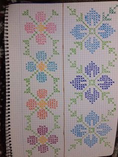 Simple Cross Stitch, Cross Stitch Borders, Cross Stitch Flowers, Cross Stitch Designs, Cross Stitching, Cross Stitch Embroidery, Cross Stitch Patterns, Button Hole Stitch, Tapestry Design
