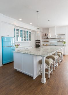 recycled glass countertop | laura u interior design | cool