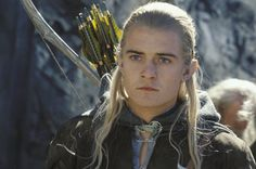 Orlando Bloom in The Lord of the Rings: The Two Towers