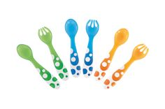 Munchkin Multi Forks and Spoons 6 Pack, Available online at (http://www.mybumpsandbabes.com/munchkin-multi-forks-and-spoons-6-pack/)