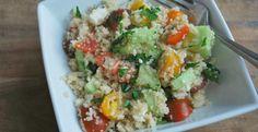 Whole Wheat Cous Cous Salad | KitchenDaily.com