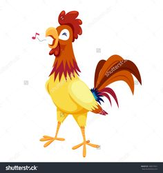 stock-vector-cock-vector-on-white-background-108677651.jpg (1500×1600)