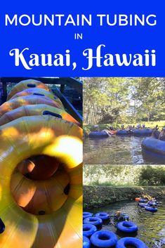 Guide and tips for mountain tubing in Kauai, Hawaii USA with Kauai Backcountry Adventures and with kids #kauaitubing #kauaiwithkids