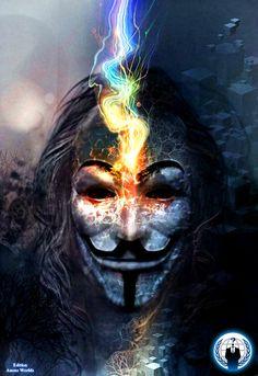 #Anonymous Art Of Revolution Edition AnonzWorldz