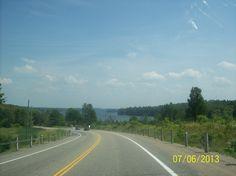 Lake Muskoka as seen on Muskoka Road 118 between Port Carling and Bracebridge Ontario, Country Roads, River, Rivers