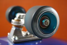 skateboard wheel spinning