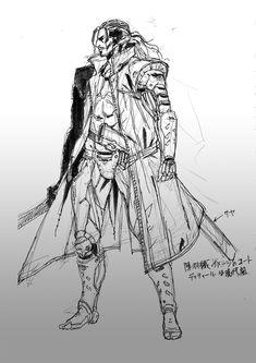 another Metal Gear Revengeance concept art