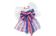 Deco Mesh Patriotic Angel