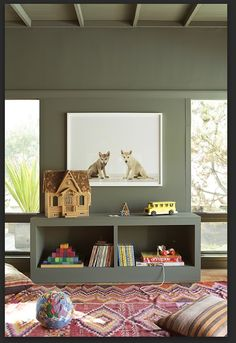 Inspiration for the look and feel of the nursery.