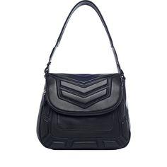 Aimee Kestenberg Maya Flap Shoulder Bag Black