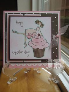 Happy Cupcake Day! by jbracht - Cards and Paper Crafts at Splitcoaststampers