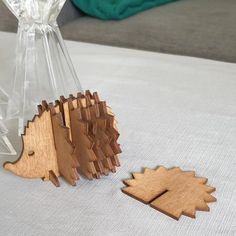laser ready file for a hedgehod coaster caddy, made for wood of any kind comes in 4 formats. Coaster Holder, Gingerbread Cookies, Cnc, Hedgehog, Coasters, My Etsy Shop, Digital, Handmade Gifts, Gingerbread Cupcakes