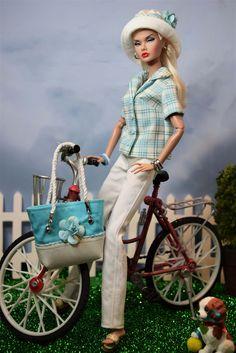 Summer Plaid Barbie Summer, Barbie I, Barbie World, Diy Barbie Clothes, Doll Clothes, Fashion Royalty Dolls, Fashion Dolls, Poppy Doll, Dolly Dress