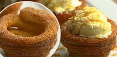 Churros em formato de casquinha de sorvete: você nunca mais vai querer a tradicional