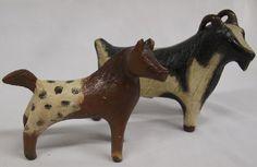 Navajo potterygoat& horse