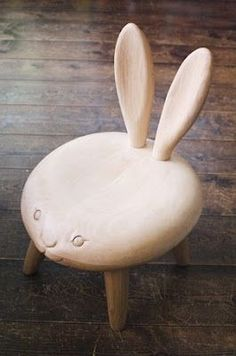 bunny chair       #kids #furniture