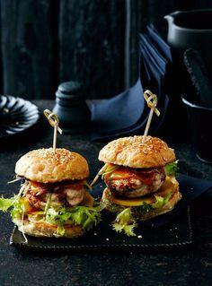 Teriyaki-Burger Rezept - [ESSEN UND TRINKEN]