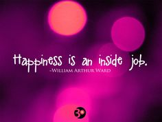 Finding Happiness Quotes And Sayings: Happiness Quote And Sayings In Purple Background  ~ Mactoons Life Inspiration