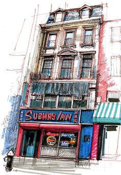 The Subway Inn   Stephen Gardner