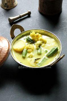 Casserole Recipe : Mix Vegetable Curry in Coconut Milk, How to make Mix Vegetable Curry in Coconut Milk