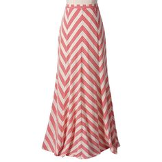 Ella Moss Chevron Ruby Maxi Skirt from @Layla Grayce #laylagrayce #fashion #skirt