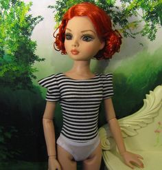 Ellowyne Wilde Doll Outfit *TOP ONLY* Shirt Picking Up Pieces Again Prudence