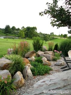 25 Rock Garden Designs Landscaping Ideas for Front Yard 2018 #LandscapingIdeas #Yards #CurbAppeal #LowMaintenance #Curb Appeal #On A Budget #Low Maintenance #Arizona #Small #Florida #Modern #Sloped #Easy #Large #Simple #RockGarden #Gardens #Landscaping #Yards #lowmaintenancelandscapetexas