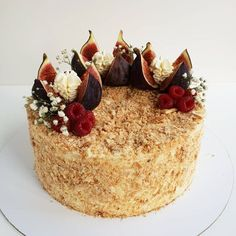 Napoleon Cake, Cake Decorating Designs, Princess Birthday, Cake Art, New Recipes, Acai Bowl, Bakery, Cheesecake, Food And Drink