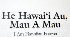 He Hawai'i Au!!!
