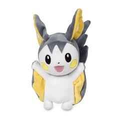 Official Foongus Poké Doll Plush. A cute pink nose and a cap like a Poké Ball! Pokémon Center Original.