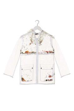 Sequin Plastic Mac - Jackets & Coats - Clothing - Topshop Europe