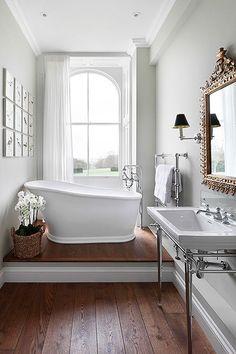 Beautiful bathrooms houzz - la luxury homes House Bathroom, House Design, Bathroom Interior, House, Bathroom Decor, Home, Dream Bathrooms, Bathroom Design, Beautiful Bathrooms