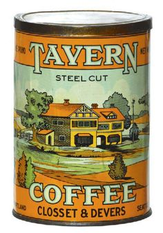 Tavern Coffee Can | Antique Advertising Value and Price Guide