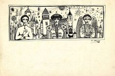Tinta xinesa sobre paper. 1954