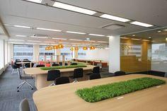 モチベーションが上がるオフィス オフィスデザイン事例 デザイナーズオフィスのヴィス
