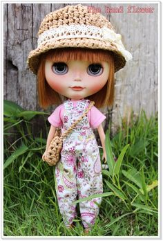OOAK custom Blythe dolloriginal takara blythe by Thehandflower